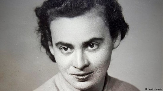 """Marta Fuchs, the head seamstress at the """"Obere Nähstube""""(Juraj Minarik)"""