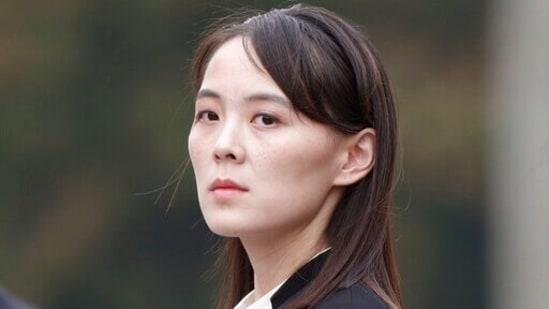 Kim Yo Jong, sister of North Korea's leader Kim Jong Un.(AP file photo)