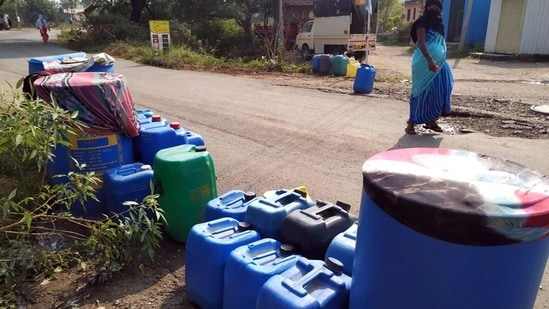 Water will not be available through the pipeline till September 17 tentatively till repairs are completed.(HT)