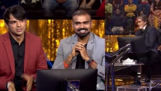 Neeraj Chopra and P Sreejesh are this week's special guests on Kaun Banega Crorepati 13.