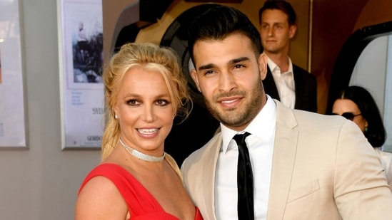 Britney Spears and Sam Asghari recently announced their engagement.(AFP)