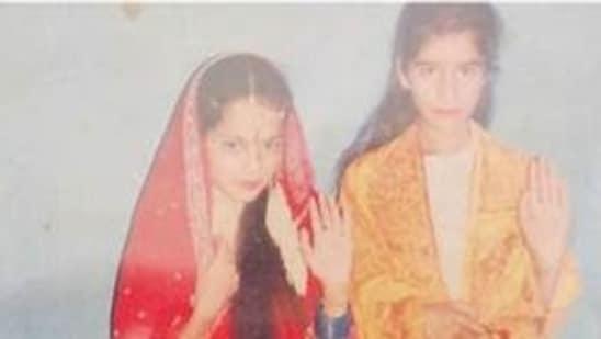 Kangana Ranaut as Sita when she was a 12-year old girl.