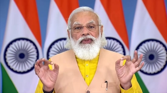 Prime Minister Narendra Modi will address a plenary session at the SCO meeting in Dushanbe on Friday.(File photo)