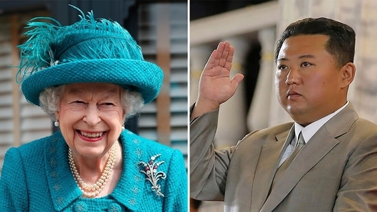 North Korean state media confirmed the message from Queen Elizabeth was received on September 7, two days before the country celebrated the 73rd anniversary of its founding.(File photo)
