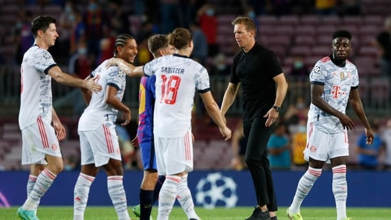 Bayern Munich beat Barcelona 3-0(REUTERS)