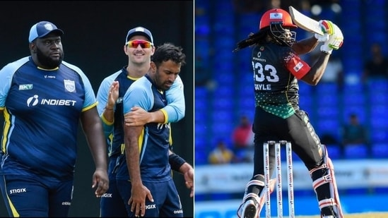 Saint Lucia Kings and St Kitts and Nevis Patriots cruise to CPL final(HT Collage)