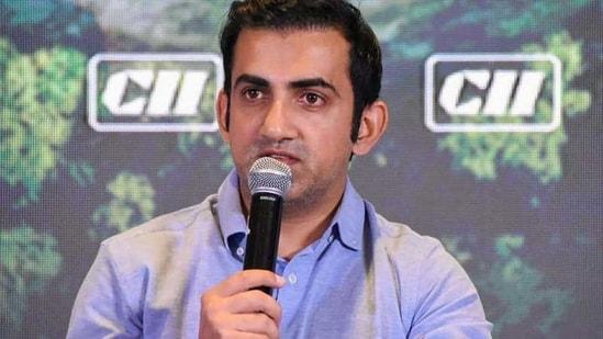 File image of Gautam Gambhir.(PTI)