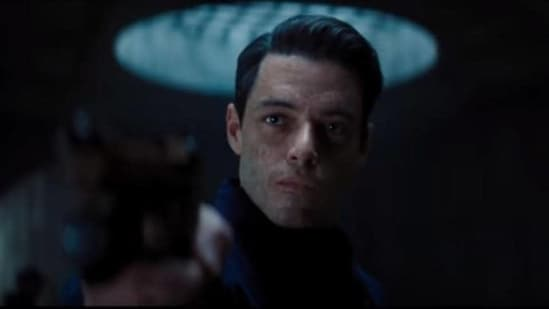 Rami Malek as Safin in No Time to Die.