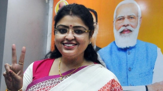 Bhabanipur bypoll BJP candidate Priyanka Tibrewal said that it doesn't matter that the Election Commission sent her a notice over Covid-19 norms violation because she didn't do anything. (PTI Photo)