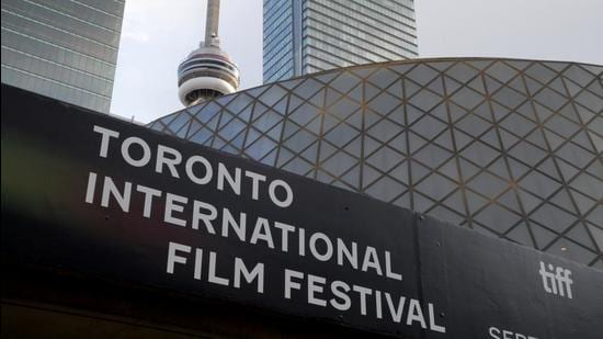 A view of Roy Thomson Hall during the Toronto International Film Festival (TIFF) in Ontario, Canada. Afghanistan's filmmaker Sahraa Karimi urged the global community on the sidelines of the event to boycott recognising the Taliban government. (REUTERS)