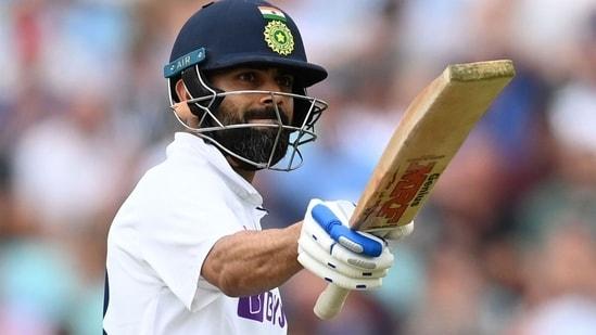 Virat Kohli scored 3 fifties in the England Test series.(Getty)