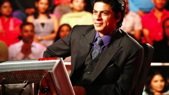 Shah Rukh Khan hosted Kaun Banega Crorepati season 3.