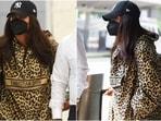 Priyanka Chopra in Dior leopard sweatshirt aces street style look at JFK, here's what its cost(Instagram/@priyankachopra_nation)