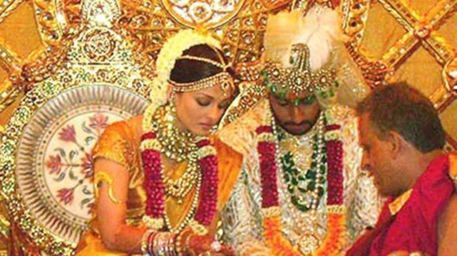 Abhishek Bachchan reacts as fans share morphed photo from his wedding to Aishwarya Rai |  bollywood