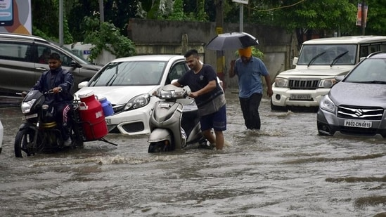 The all-time record is 1,420.3mm rainfall in 1933.(HT photo)