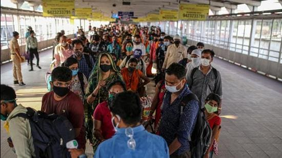 Pune railway division has fined 10,745 persons for travelling on a train without a ticket in August this year. (Bloomberg)