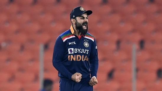 Virat Kohli to step down as India's T20 captain after World Cup 2021(AFP)