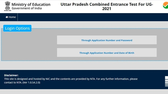 UPCET answer keys 2021: Candidates who have appeared in the UPCET 2021 exam can check the answer key online on the official website of NTA UPCET at upcet.nta.nic.in.(upcet.nta.nic.in)