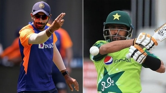 Bumrah vs Babar will be one of the contests to watch out for: Salman Butt(HT Collage)