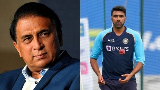 Sunil Gavaskar speaks about Ashwin's inclusion in India's T20 World Cup squad(HT Collage)