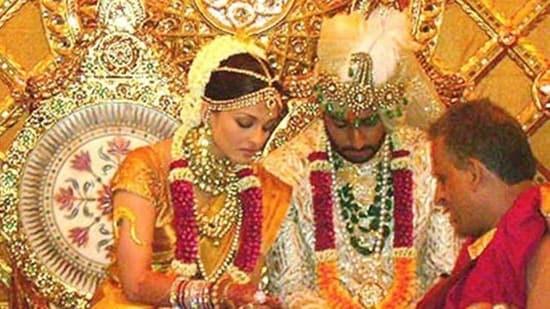Abhishek Bachchan and Aishwarya Rai got married in 2007.
