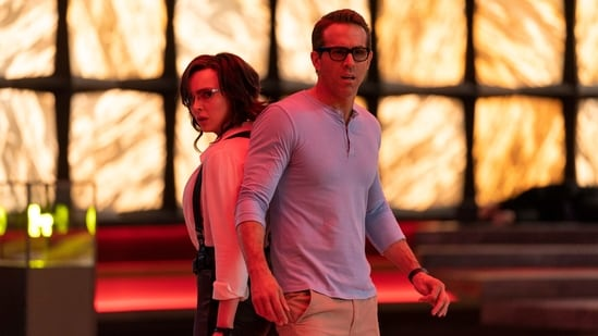 Free Guy movie review: Jodie Comer and Ryan Reynolds in a scene from Shawn Levy's new film.(AP)