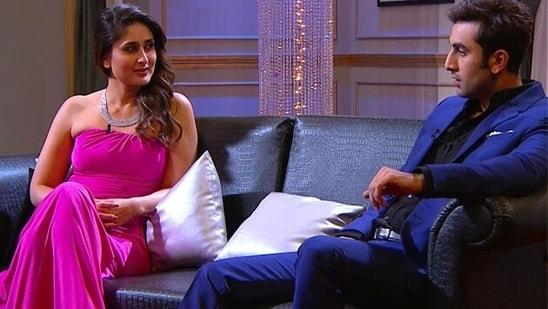 Kareena Kapoor with Ranbir Kapoor on Koffee With Karan.