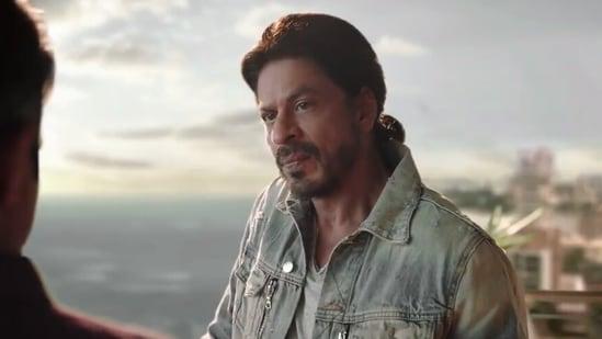 Shah Rukh Khan in a new ad for Disney+ Hotstar.
