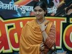 Ankahi Kahaniya movie review: Rinku Rajguru in a still from Abhishek Chaubey's Madhyantar, one-third of Netflix's new anthology film.