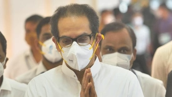 Maharashtra chief minister Uddhav Thackeray. (HT FILE)