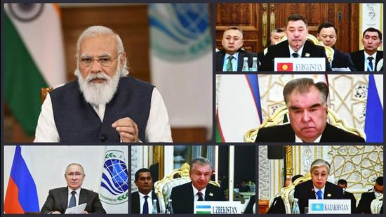 As summits go, India is in an anomalous position wherein PM Modi attended a virtual summit of China-led Shanghai Cooperation Organisation (SCO) on September 17 — a week before the US-led Quad summit in Washington (PTI)