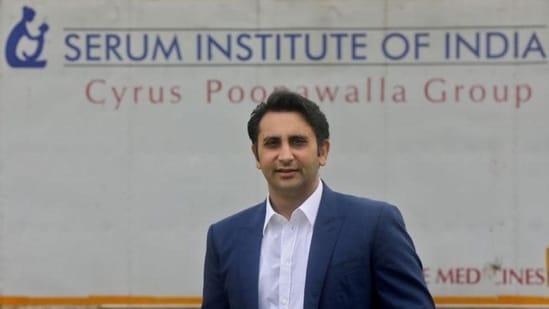 Adar Poonawalla, chief executive officer of Serum Institute of India. (File photo)