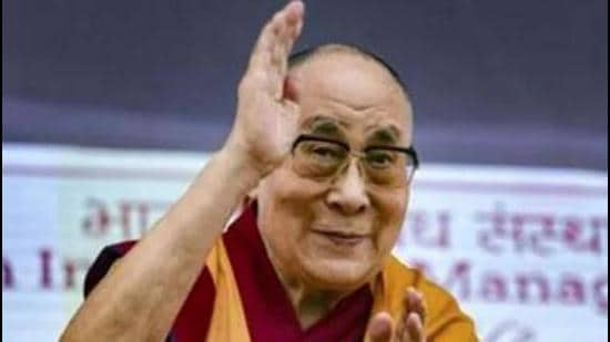 Tibetan spiritual leader The Dalai Lama (above) in his letter to PM Modi also thanked the government and people of India for the warm and generous hospitality they have received. (HT file photo)