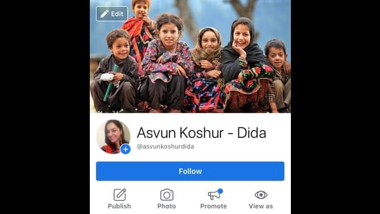 Handu uses Facebook and Instagram (@asvunkoshur) to unite Kashmiri children from different communities. 'I have a lot of faith in kids. I believe if you want to teach something positive to people, catch them young,' she says.