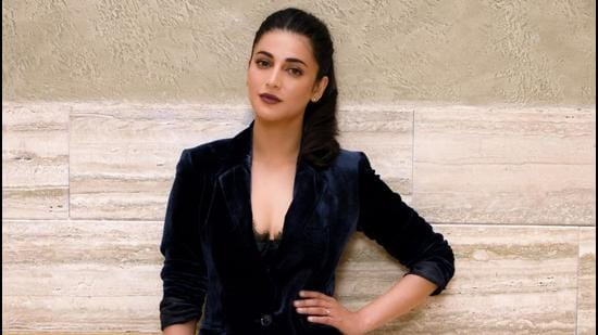 Shruti Hassan likes to use her social media to stress on the need and importance of loving oneself (Sarang Gupta/Hindustan Times)