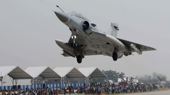 Out of the 24 Mirage fighters, 13 are in complete condition with engine and airframe intact with eight of them ready to fly after servicing.(File Photo)