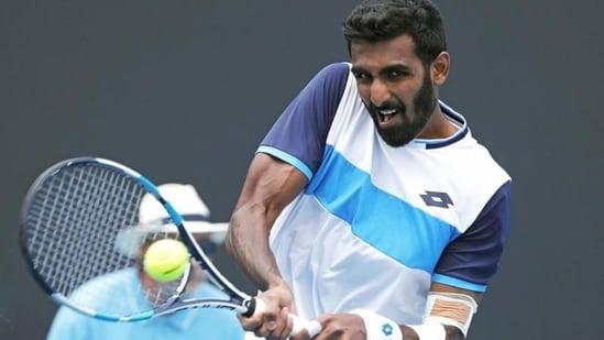 File image of India's Prajnesh Gunneswaran.(Reuters)