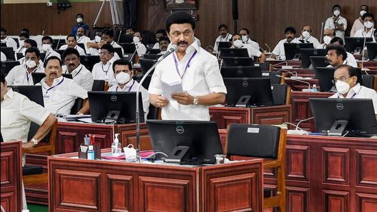 Tamil Nadu chief minister MK Stalin made the announcement in the state assembly recently. The DMK in its election manifesto had also promised to withdraw the cases lodged against protesters during AIADMK's rule. (PTI PHOTO.)