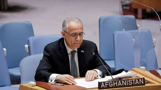 Afghanistan's UN ambassador Ghulam Isaczai will reportedly remain in the New York seat until a decision is made.(Reuters)