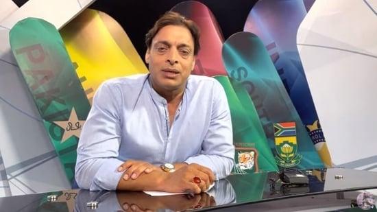 File image of Shoaib Akhtar.(Screengrab/Shoaib Akhtar YouTube)