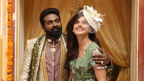 Annabelle Sethupathi movie review: Taapsee Pannu and Vijay Sethupathi play a couple in the movie.