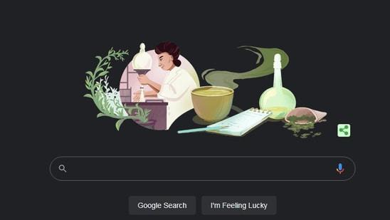 Screengrab of google homepage.