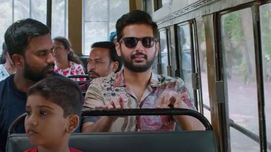 Maestro movie review: Nithiin takes over Ayushmann Khurrana's role in the movie.