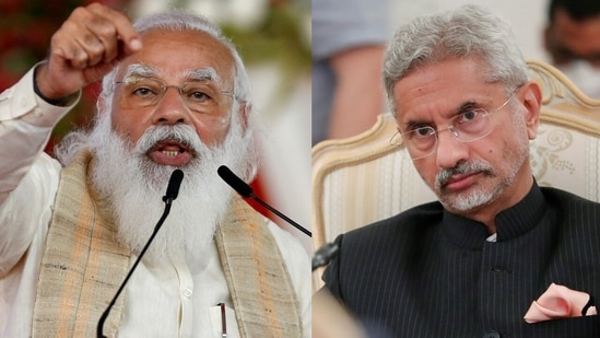 21st SCO summit: Prime Minister Narendra Modi will lead the Indian delegation virtually via a video link, while the minister of external affairs, S Jaishankar, will represent India at a meeting on Afghanistan with the heads of state of SCO and the Russia-led Collective Security Treaty Organisation.(File Photo)