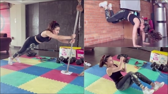 Soha Ali Khan lays fitness inspo with a never-seen-before video of core workout