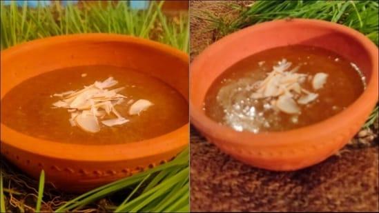 Recipe: Make hearts sing with Ankurit Gehun ka Halwa or Caramelized Wheat Halwa(Vikhroli Cucina)