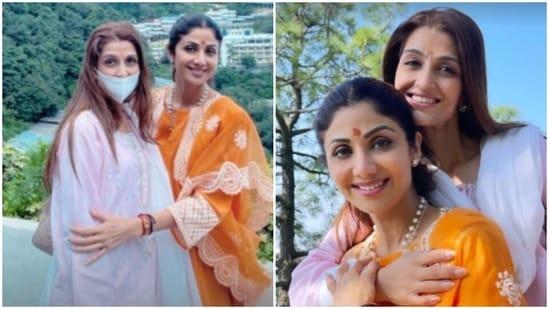 Shilpa Shetty visited Vaishno Devi.