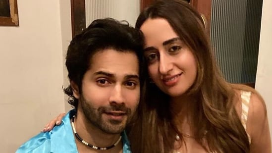 Varun Dhawna has shared a picture with wife Natasha Dalal on Instagram.