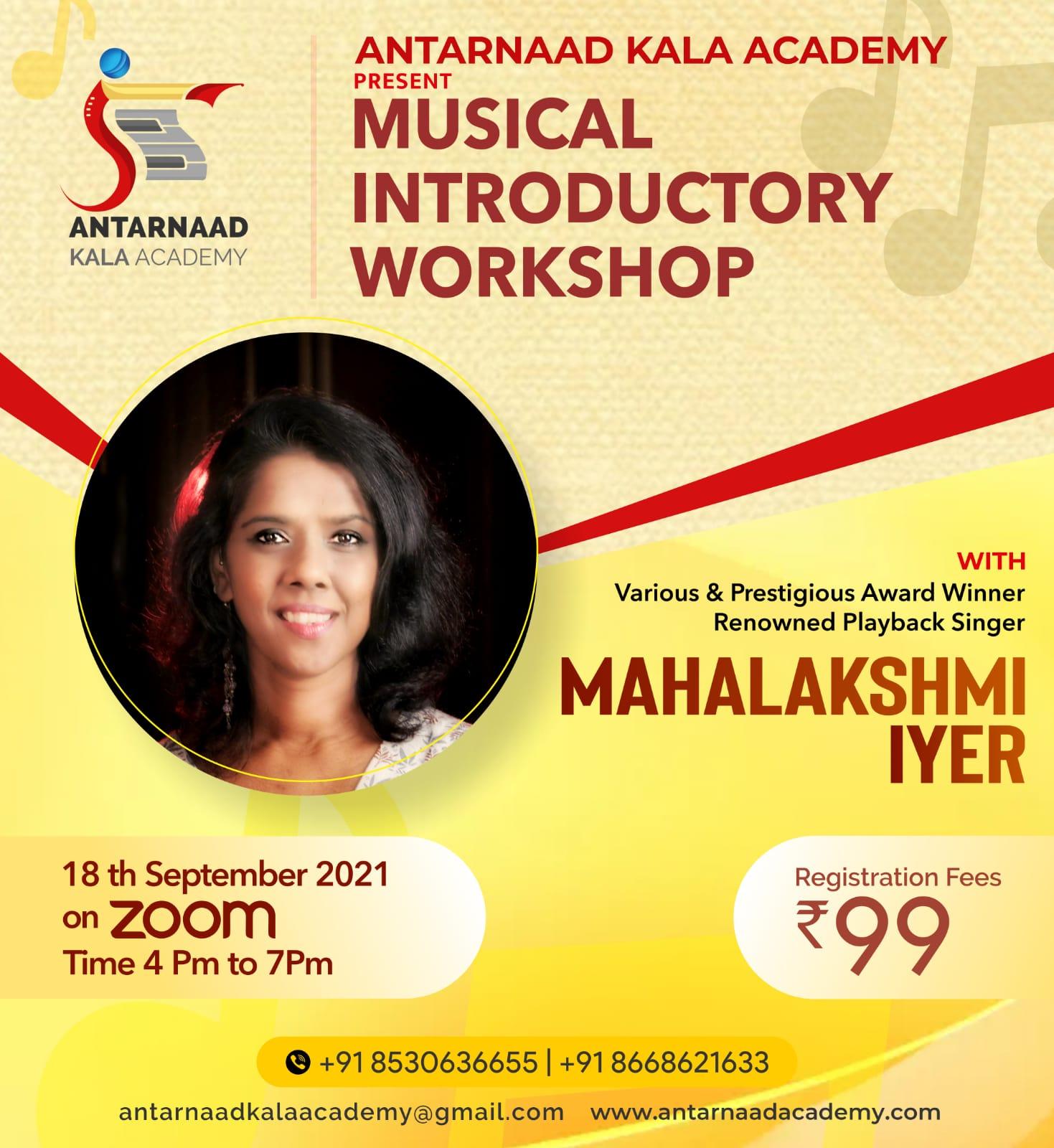 The Antarnaad Kala Academy organized an online <a class=