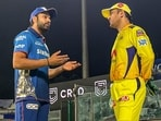 Rohit Sharma and MS Dhoni are the two most successful IPL captains in history.(Mumbai Indians/Twitter)